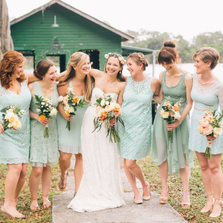 A Bohemian Barn Wedding