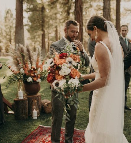 A Woodland Boho Wedding