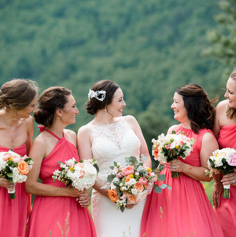 Blue Ridge Mountain Wedding