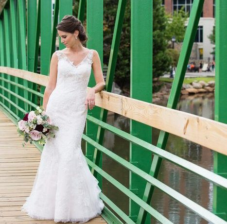 Blush and Burgundy Autumn Wedding