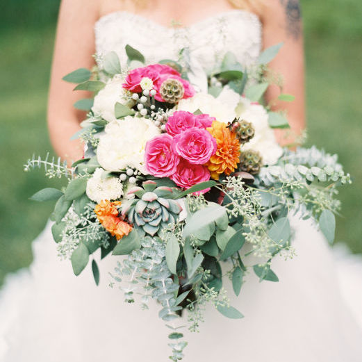 Colorful Boho Montana Wedding