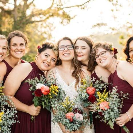 San Diego Park Boho Wedding