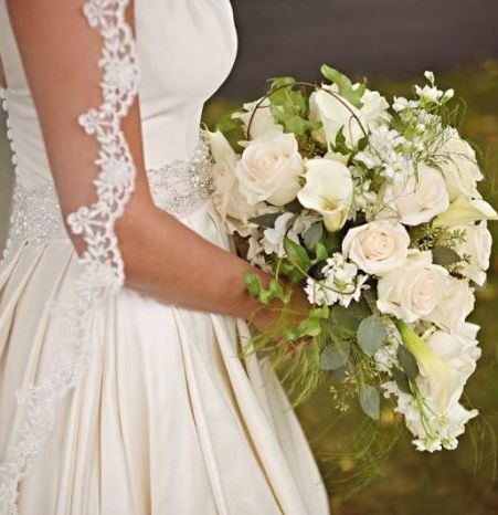 Elegant Black & White Wedding