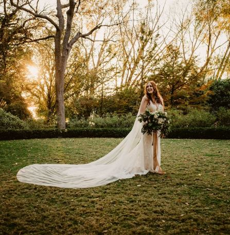 Eclectic Autumn Garden Wedding