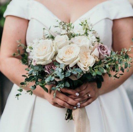 Fresh Garden Wedding in October