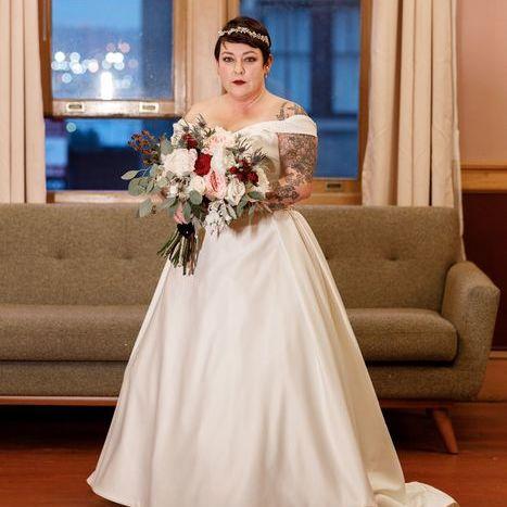 Jewel Tone Winter NYE Wedding