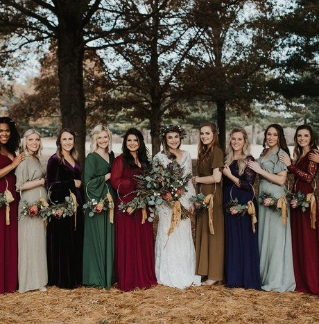Effortless Bohemian Wedding