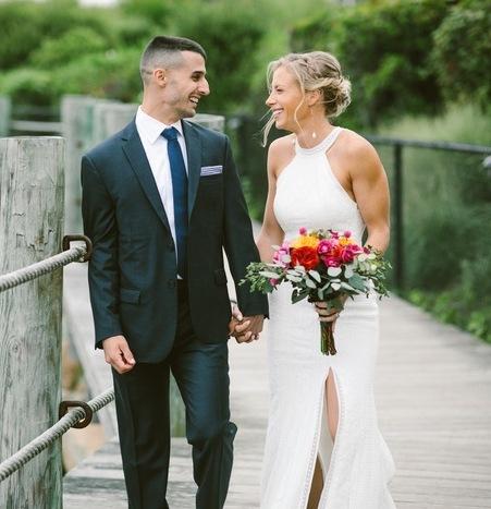 A Vibrant Modern Wedding