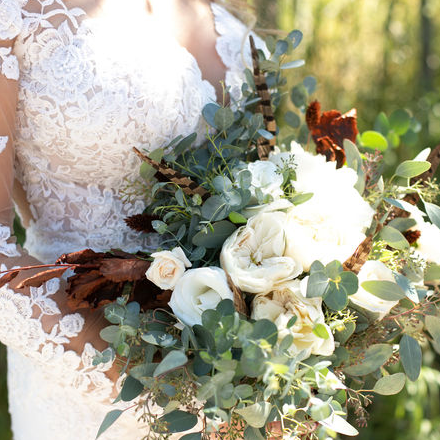 Simply Elegant Dried and Fresh Flower Wedding