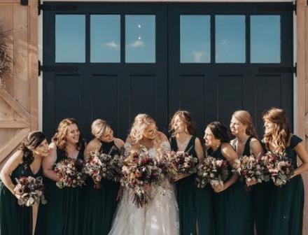 Snowy Fall Protea Wedding