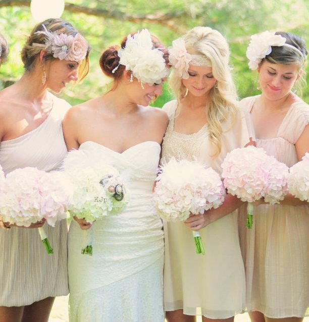 Soft and Simple Hydrangea Bouquets