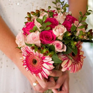 DIY Wedding Package 100 Roses 120 Gerberas and 50 Spray Roses
