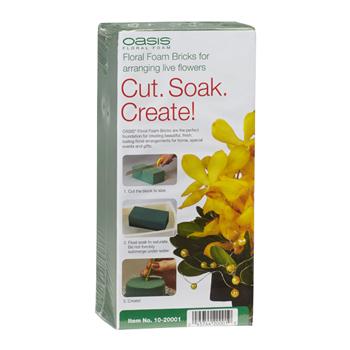 OASIS® Instant Floral Foam MaxLife Brick