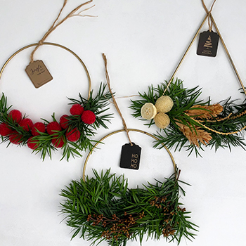 Assorted Modern Wreaths