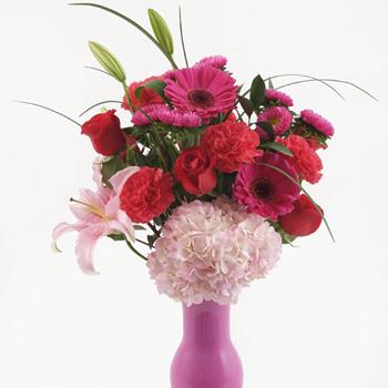 My Sassy Valentine Mixed Pinks Bouquet
