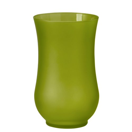 9 Inch Colored Hurricane Vase