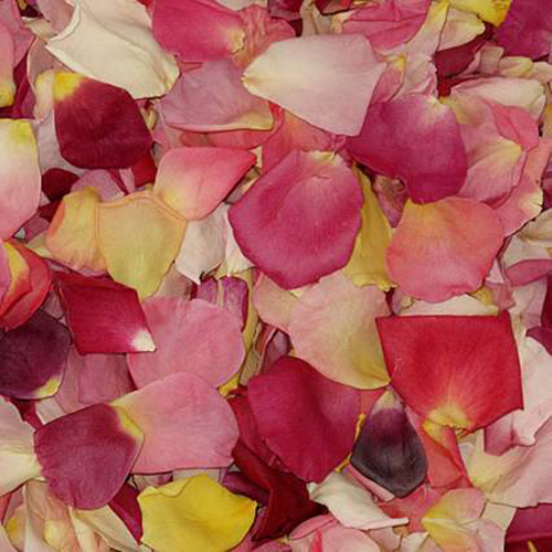 Dried Real Rose Petals Mixed