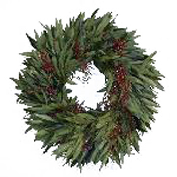 Bay Leaf and Pepperberry Wreaths