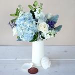 Hydrangea DIY Wedding Flower Centerpiece Idea