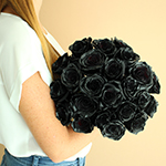 Fresh Roses Black Tinted
