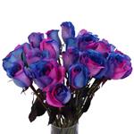 Blue Fresh Roses
