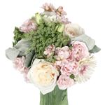 Blush Flower Centerpiece for wedding