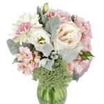 Blush flower centerpieces delivery