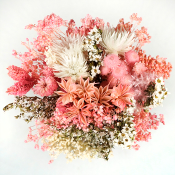 Strawberry Fields Dried Bouquet