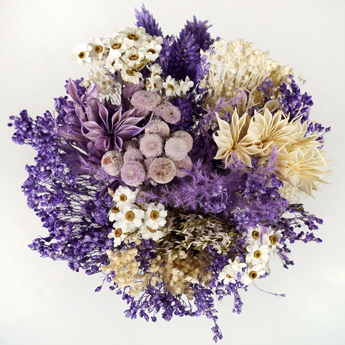 Amethyst Dried Bouquet