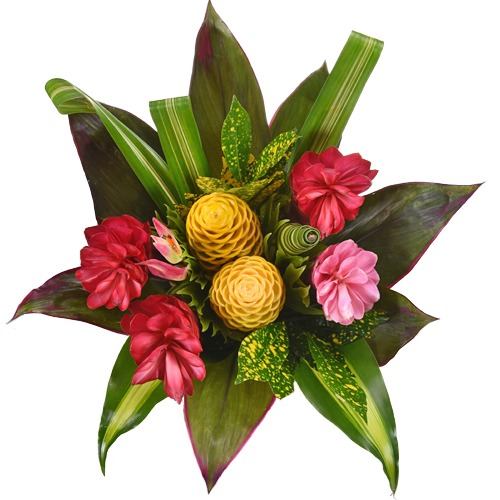 Tropical Delight Flower Centerpiece