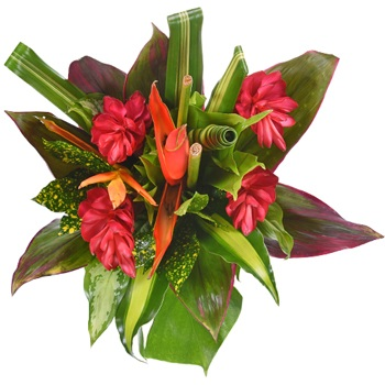 Sunset Cove Tropical Centerpiece