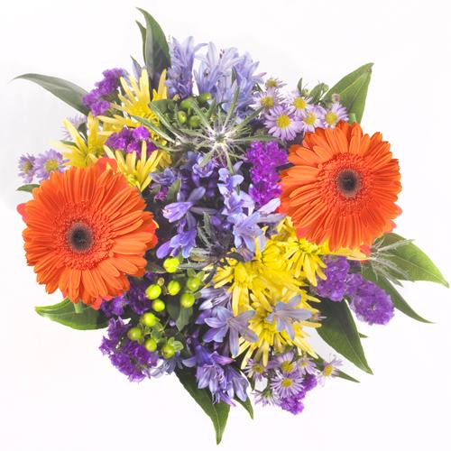 Wedding Purple Flowers: Bridal Centerpieces Orange And Purple Flowers