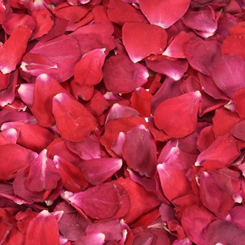 Red Hot Dried Rose Petals