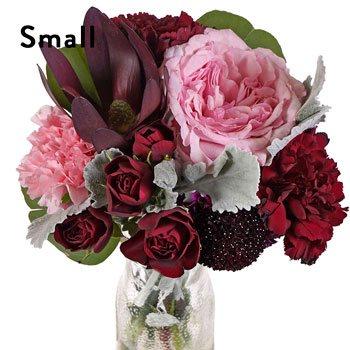 Burgundy Blush Flower Centerpieces