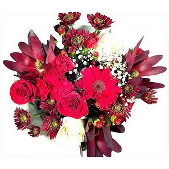 Burgundy Blast Wholesale Centerpieces