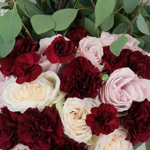 Burgundy Blush Flower Ideas