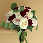 Burgundy Blush Flower Bouquet