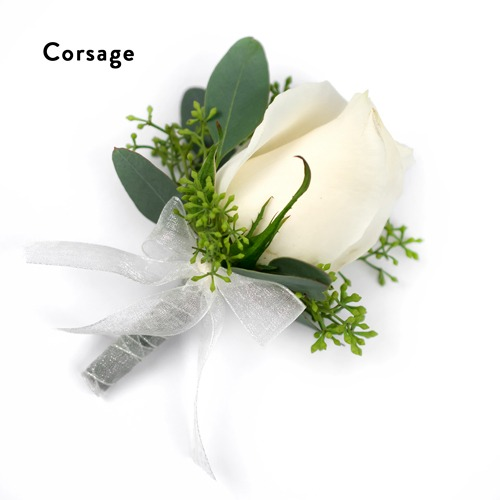 Enchanted Boutonnière and Corsage Wedding Package