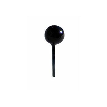 DIY Pins Black Onyx Metallic