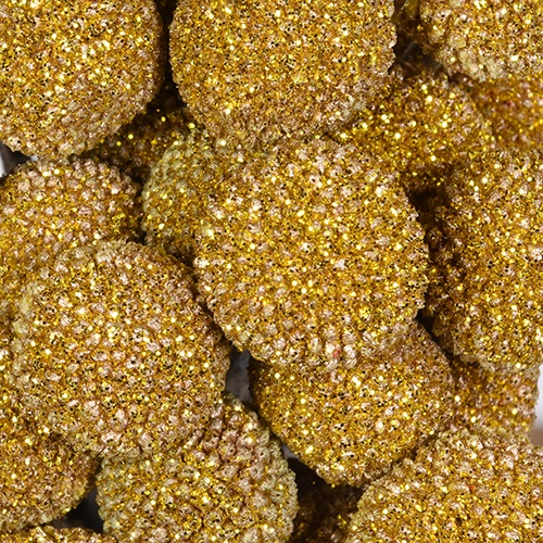 Craspedia Billy Balls Glitter Gold Flower