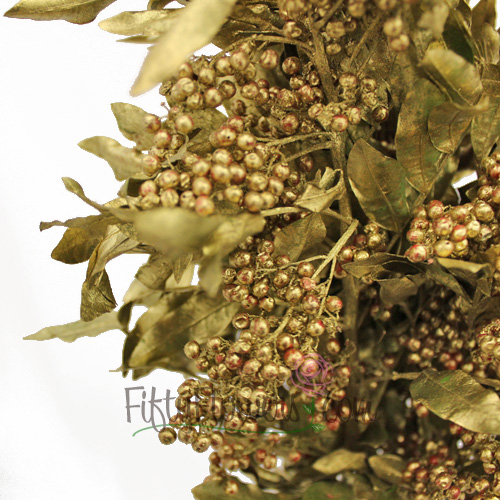 Wedding greenery gold pepperberry filler flowers sold near me