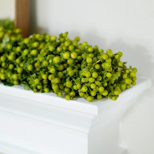 Forest Green Hypericum Berry Garland