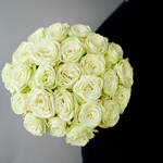 Green garden roses sold in bulk for customers to make a gift arrangement