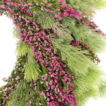 Heather and Woolly Bush Wreaths
