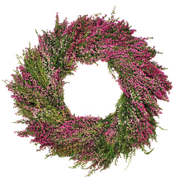 Fresh Heather Wreaths