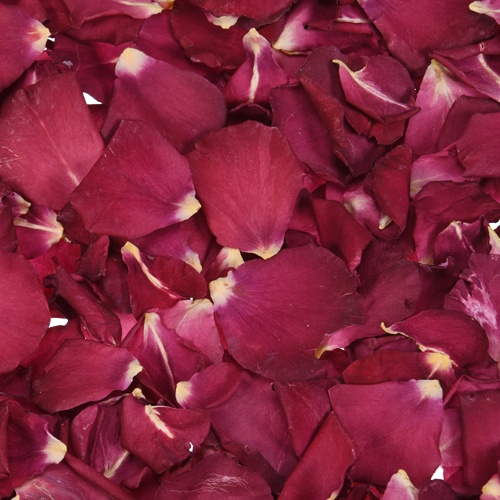 Spicy Red Dried Rose Petals