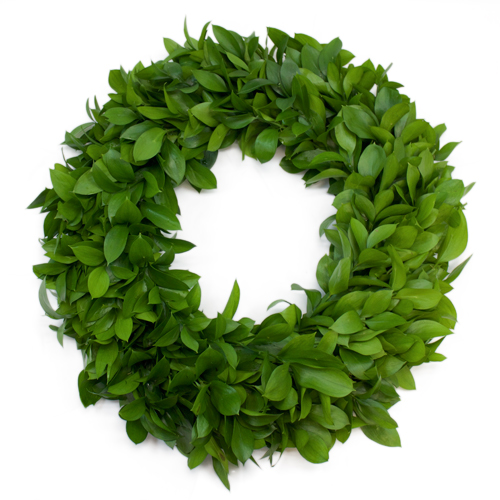 Israeli Ruscus Wreath