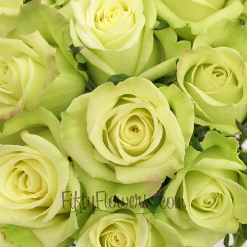 Jade Green Bulk Rose