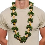 Hawaiian Lei Kukui Nut