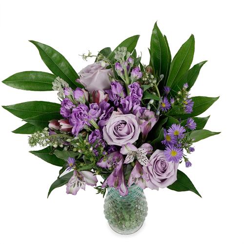 Lavender Hues Centerpiece